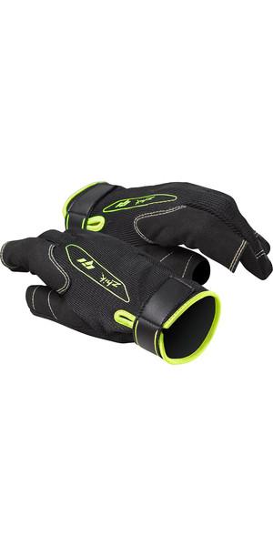 2019 Zhik G1 Long Finger Sailing Gloves Black GLV0015