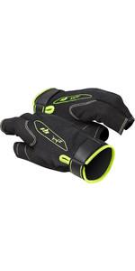 2021 Zhik G1 Short Finger Sailing Gloves Black GLV0010