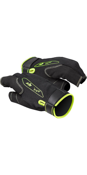 2019 Zhik G1 Short Finger Sailing Gloves Black GLV0010