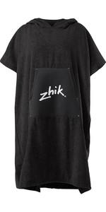 2020 Zhik Hooded Towel Black TWL0020