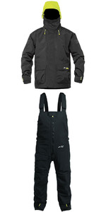 2019 Zhik Kiama X Coastal Jacket J401 & Trouser TR101 Combi Set Black