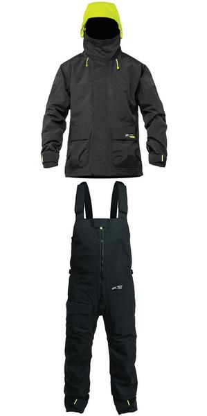 2019 Zhik Kiama X Womens Jacket J401W & Trouser TR101 Combi Set Black