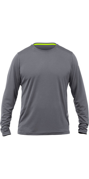 2018 Zhik Long Sleeve ZhikDry LT Top Grey TOP73