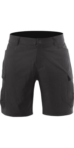 2019 Zhik Mens Harbour Shorts Black SRT0270
