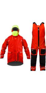 Zhik Mens Isotak X Ocean Jacket & Salopette Combi Set