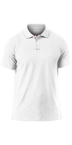 2019 Zhik Mens Lightweight Polo Shirt White Marl POL0005