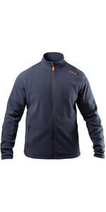 2021 Zhik Mens Polartec Zip Fleece JKT-0032 - Navy