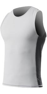 2021 Zhik Mens Spandex UV50 Rash Vest TOP60 - Ash