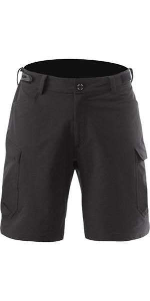 2019 Zhik Mens Technical Deck Shorts Black SRT0370