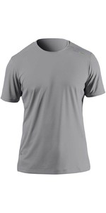 2021 Zhik Mens ZhikDry UV Active Short Sleeve Top ATP0075 - Grey