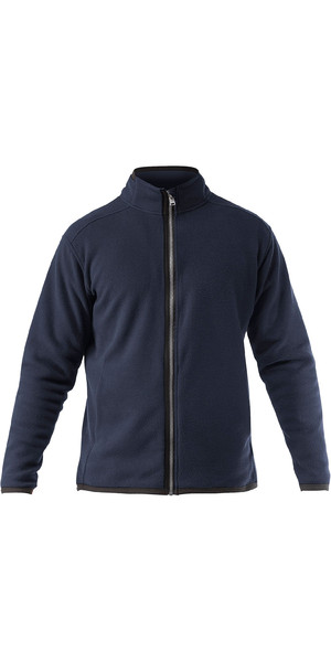 2019 Zhik Mens Zip Fleece Jacket Navy JKT0030