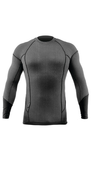 2019 Zhik Superthermal Hydrobase Long Sleeve Top Grey TOP25