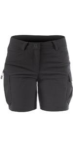 2020 Zhik Womens Harbour Shorts Black SRT0270