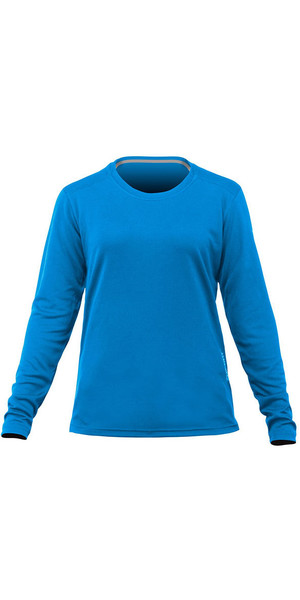 2018 Zhik Womens Long Sleeve ZhikDry LT Top Cyan TOP73W