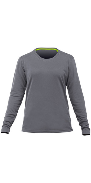 2018 Zhik Womens Long Sleeve ZhikDry LT Top Grey TOP73W