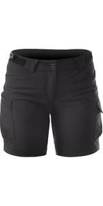 2019 Zhik Womens Technical Deck Shorts Black SRT0370