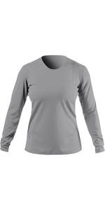 2021 Zhik Womens ZhikDry UV Active Long Sleeve Top ATP0070W - Grey