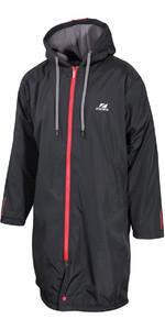 2021 Zone3 Polar Fleece Parka Robe Jacket CW19WXFPJ101- Black / Red