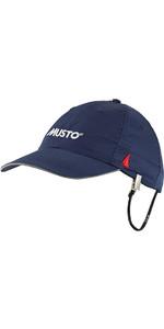 2021 Musto Fast Dry Crew Cap True Navy AL1390