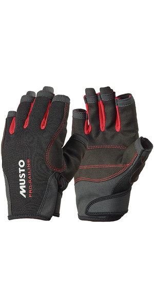 Musto Essential Sailing Short Finger Gloves BLACK AS0813