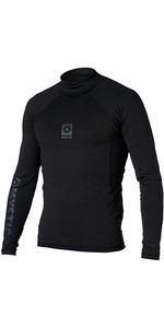 2020 Mystic Mens Long Sleeve Bipoly Thermo Vest BLACK 140070