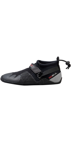 2019 Gul Strapped Slipper 3mm Titanium Shoe BLACK / GREY BO1265-A8