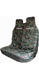 2019 Northcore Waterproof Double Van Seat Cover CAMO NOCO06B