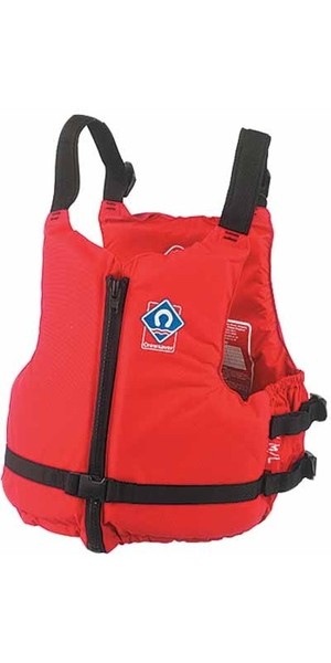 2018 Crewsaver JUNIOR Centre Zip Buoyancy Aid in RED 2359