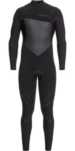 2020 Quiksilver Mens Highline + 4/3mm Chest Zip Wetsuit EQYW103059 - Black / Gold