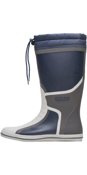 2019 Gul Full Length Deck Boot Navy / Charcoal GM0164