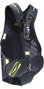 2019 Gul Junior Evolution 2 Trapeze Harness in Black / Yellow GM0374