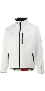 2019 Helly Hansen Crew Midlayer Jacket Bright White 30253