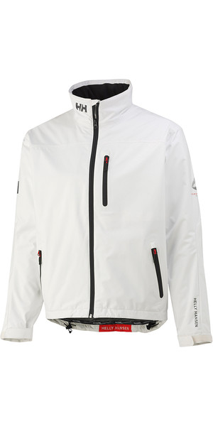 2018 Helly Hansen Crew Midlayer Jacket Bright White 30253