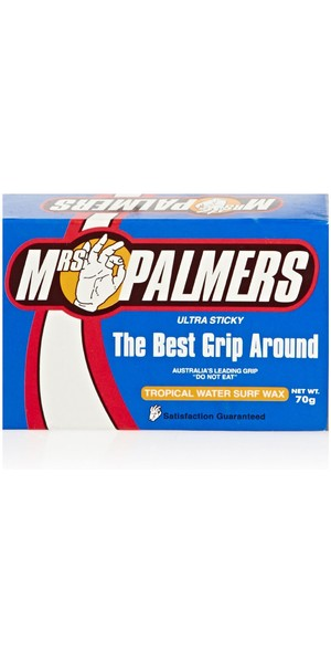 2018 Mrs Palmers Tropical Water Surf Wax