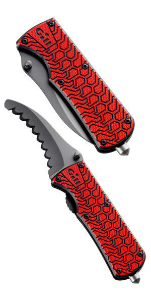2018 Gill Folding Personal Rescue Knife MT006 RED