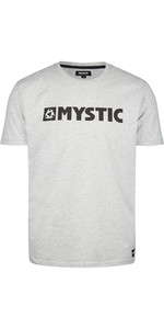 2020 Mystic Mens Brand Tee 190015 - Asphalt Melee