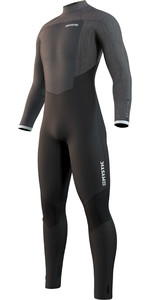 2021 Mystic Mens Majestic 4/3mm Back Zip Wetsuit 210060 - Black