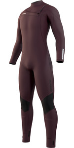 2021 Mystic Mens Marshall 4/3mm Front Zip Wetsuit 210063 - Merlot