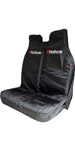 2019 Northcore Waterproof Double Van Seat Cover BLACK NOCO06