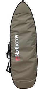 2020 Northcore Aircooled Shortboard Surfboard Bag 6'8 Olive Green NOCO27