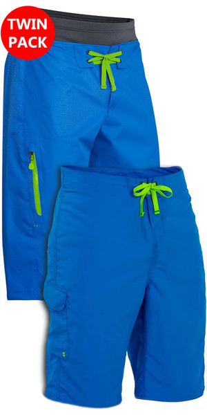 Palm Spring & Summer Shorts: Horizon + Skyline Canoe / Kayak Shorts Blue Bundle Offer
