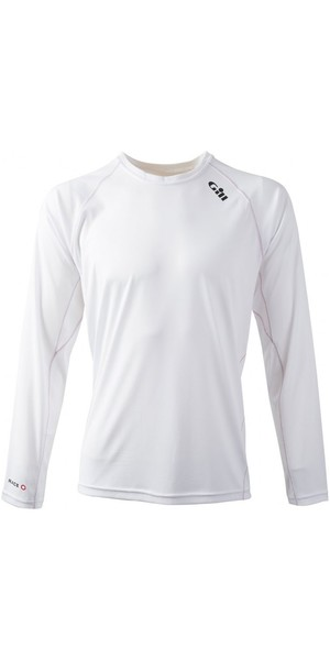 2019 Gill Race Long Sleeve T-Shirt WHITE RS07