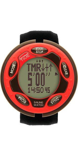 2018 Optimum Time Series 14 Sailing Watch Red 1436