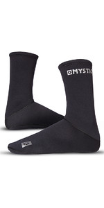 2019 Mystic 2mm Neoprene Semi Dry Round Toe Sock 070810