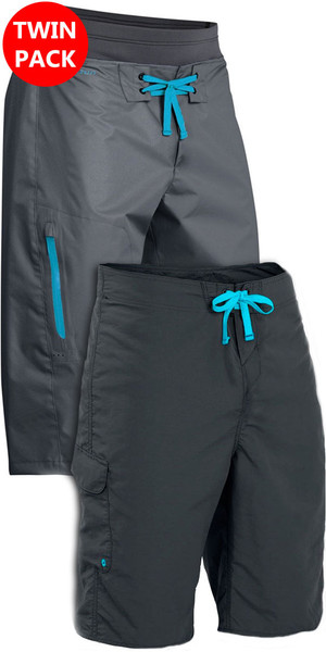 Palm Spring & Summer Shorts: Horizon & Skyline Canoe / Kayak Shorts Grey Bundle Offer