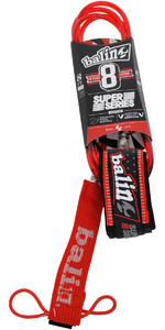 2019 Balin Super Series 7mm Double Swivel Leash Red - 8ft
