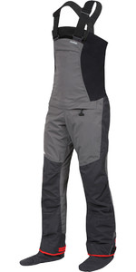 2021 Nookie Pro Bib Single Waist Dry Trousers TR11 - Grey / Black