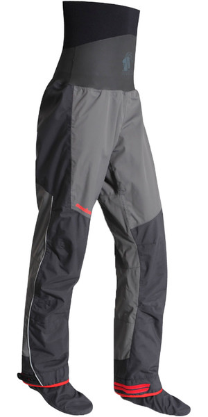 2019 Nookie Evolution Dry Trousers with SOCKS Charcoal Grey / Shadow Black TR30