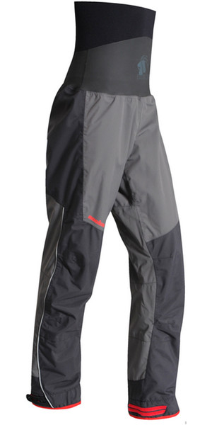 2019 Nookie Evolution Dry Trousers with LATEX SEALS Charcoal Grey / Black TR31