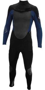Billabong Solution CT 4/3mm Zip Free Wetsuit Black / Ink Blue U44M05 - 2ND